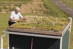 Eksperimentini žaliasis stogas Pensilvanijoje
