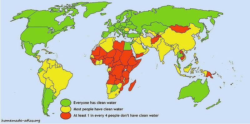 Gelas vanduo zemeje
