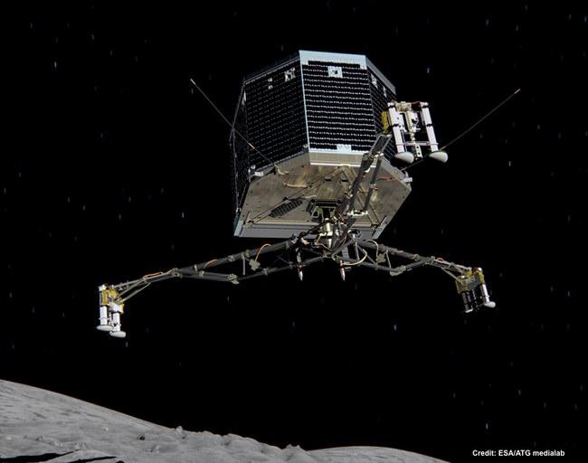 The Rosetta Comet Mission --Unlocking the Secrets of Our Origins