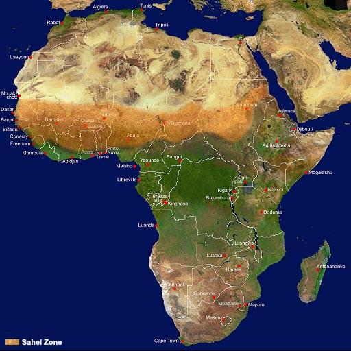 Afrikos dykumos
