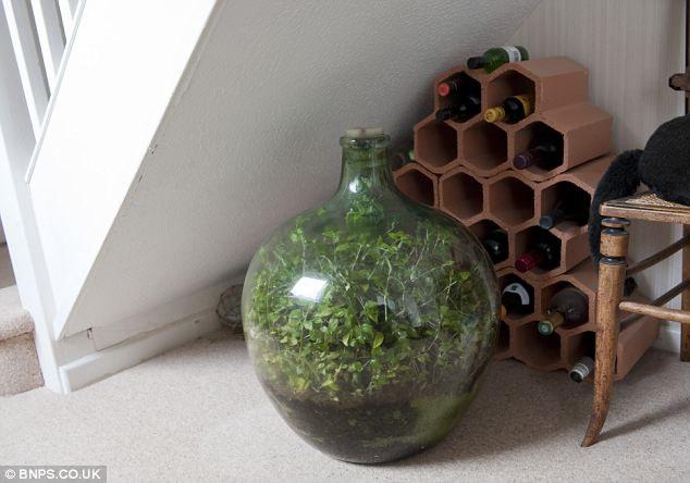 Pastaruosius 40 metų butelis yra aklinai uždaras - jo vidus absoliučiai izoliuotas nuo išorinio pasaulio.