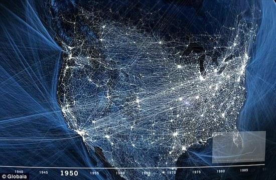 JAV, kokių dar niekas nematė. Tūkstančiai kelių iš taško A į tašką B