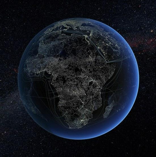 Žmogaus technologijos Afrikoje. Keliai, geležinkeliai ir duomenų perdavimo linijos