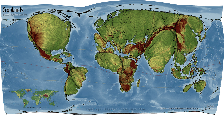 Pasaulio Gamtinis Zemelapis