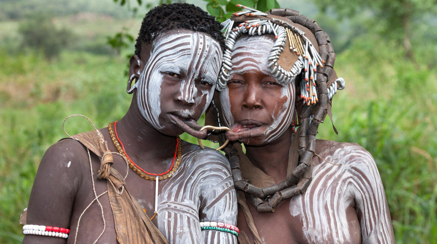 Секс племён и народов африки