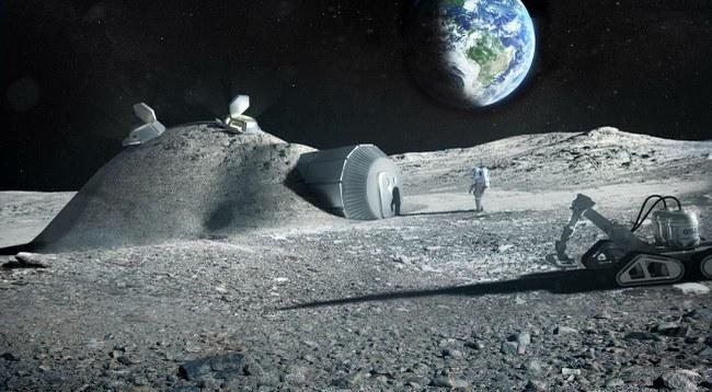 Astronautai galėtų bazes Mėnulyje statyti iš savo šlapimo