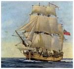 """Tarptautinė jūrų archeologų komanda mano, kad aptiko aplink pasaulį apiplaukusio kapitono Jameso Cooko laivą """"HMS Endeavour"""" (Video)"""