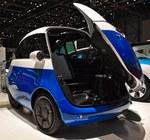 Šveicarai sukūrė tokį elektromobilį, kokio turbūt dar nesiūlo niekas kitas: kainuos nuo 12 tūkst. eurų ir skelbia, kad bus tiesiog idealus didmiesčiams (Video)