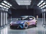 """Elektromobilių ateitis nebus nuobodi - tik pažvelkite į šią naują """"Cupra"""" karštojo hečbeko koncepciją!"""