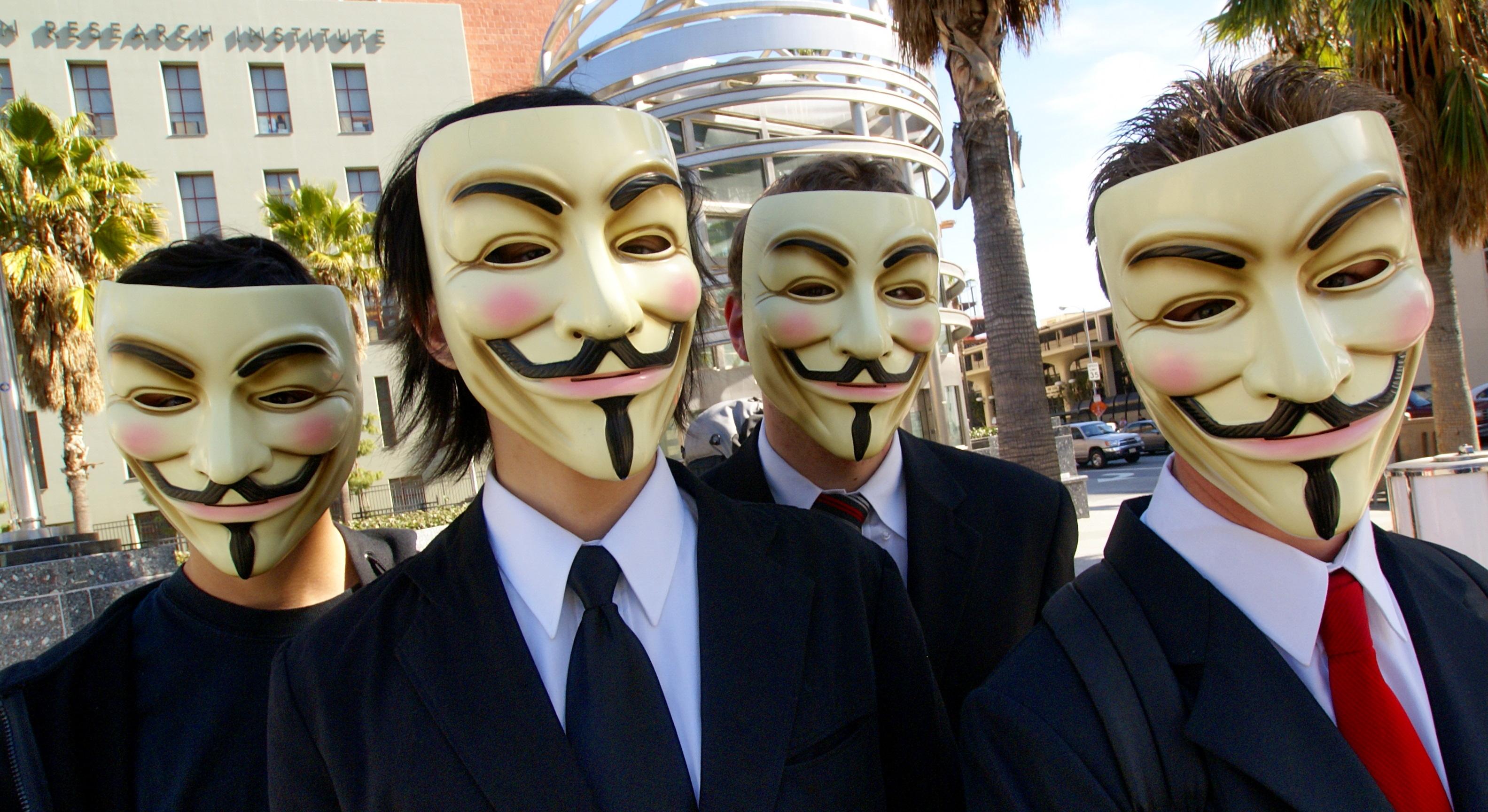 На сайте Белого дома группа Anonymous организовала сбор подписей с