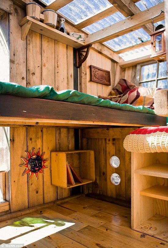 Mažiausias D. Didrikseno kūrinys iš vidaus  ©wenn.com