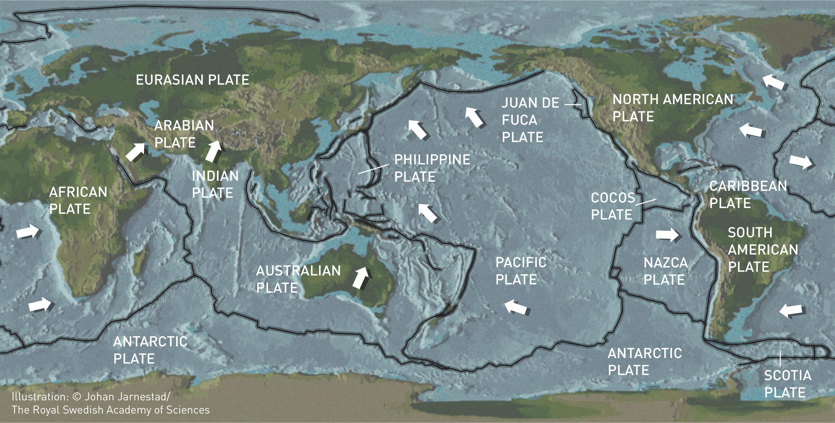 Tektoniniu ploksciu zemelapis