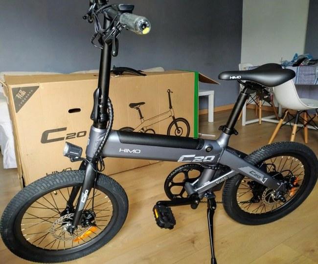 """Absoliučiai geriausias elektrinis dviratis? """"Esu nustebęs – su juo galima nuvažiuoti daugiau nei 80 km"""" (""""Xiaomi HIMO C20"""" apžvalga ir testų rezultatai, iš Lenkijos sandėlio, paskutiniai vienetai, Video)"""